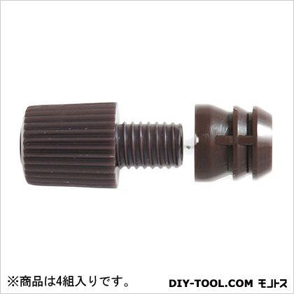 ダボ棚受 プラスチック   Z-162 1袋(4組)