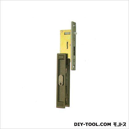 ノーブランド 引違錠前 戸先/内外 カマ締り スライド式操作 YKK  142×25mm(125×20) KH-23B