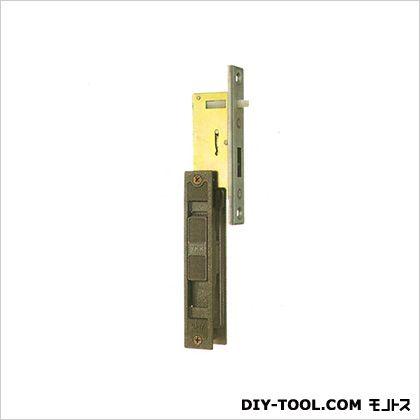 ノーブランド 引違錠前 戸先/内締 カマ締り スライド式操作 YKK  142×25mm(125×20) KH-24B