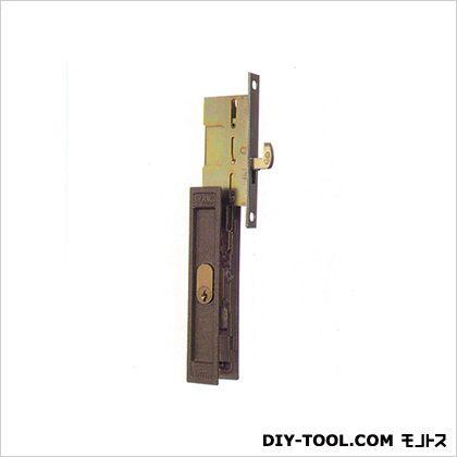 ノーブランド 引違錠前 戸先/内外 カマ締り スライド式操作 YKK  142(112)×25(16)mm KH-65