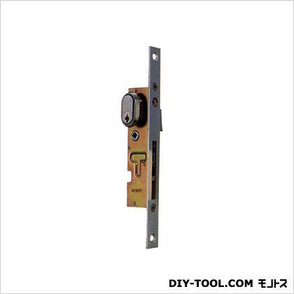 ノーブランド 引違錠前 戸先/鎌錠 カマ締り つまみ式操作 ビニフレーム  200×18mm KH-123