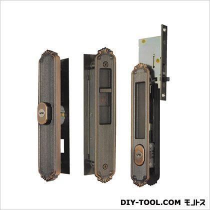 引違錠前 2点セット 召合せ/戸先 スライド式操作 YKK   KH-224