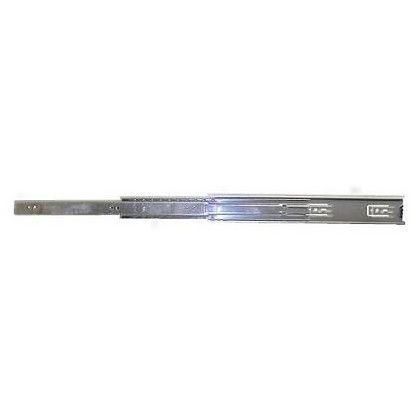 三段引スライドレール ユニクロメッキ 300mm (12113) 左右各1ヶ