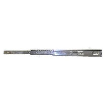 三段引スライドレール ユニクロメッキ 400mm 12115 左右各1ヶ