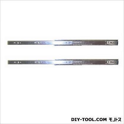 二段引スライドレール ユニクロメッキ 300mm 12120 左右各1ヶ