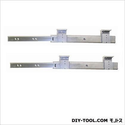三段引スライドレール ユニクロメッキ 300mm (12134) 左右各1ヶ