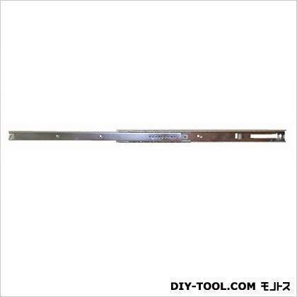 センター段引スライドレール ユニクロメッキ 330mm 12100