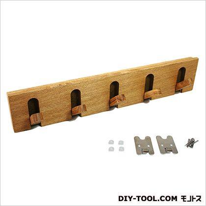 石膏ボード用 壁掛け収納フック 5連