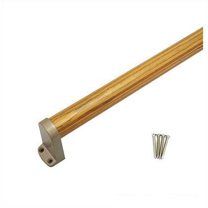 ノーブランド 木製手摺り 縦横兼用  600mm