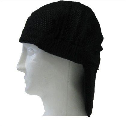 ひんやりハット ブラック フリーサイズ (5501821)