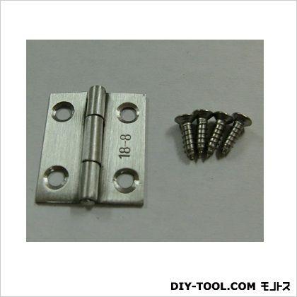 SUS304 ステンレス薄口丁番 ヘアライン 25mm 11121 100 枚