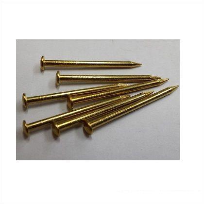 丸頭釘 真鍮 1.2mm×16mm  80本