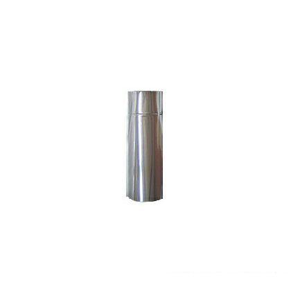 ステンレス 半直筒 106  外径106mm/全長455mm(有効375mm)/厚み0.3mm D-007