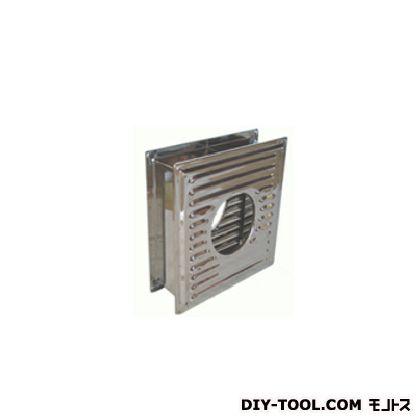 ステンレス 枠付換気板 120  煙突径:120mm/枠サイズ:300mm×300mm/内寸:252mm×252mm/スライド幅:85mm×2 D-086