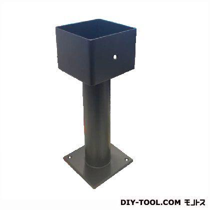 ステンレス柱受 角 ブラック塗装 120mm 44822
