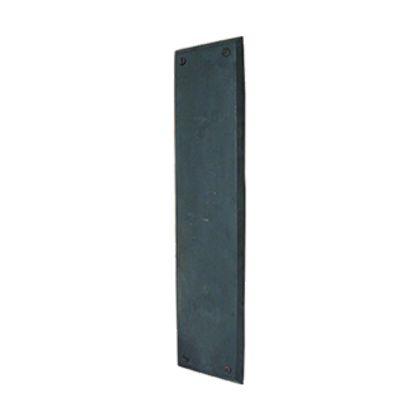 アンティーク調 押し板 プッシュ・プレート ブラック  7505-48