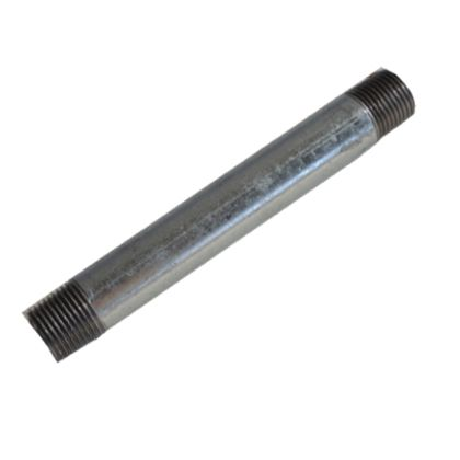 配管(ガス管)パーツロングニップル  呼び径A:15呼びB:1/2長さ:50mm