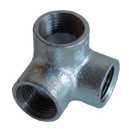 配管(ガス管)パーツねじ込み式横口エルボ  呼び径A:20呼びB:3/4