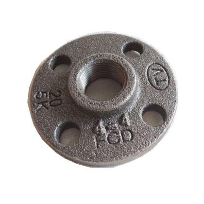 配管(ガス管)パーツねじ込み式フランジ  呼び径A:15呼びB:1/2