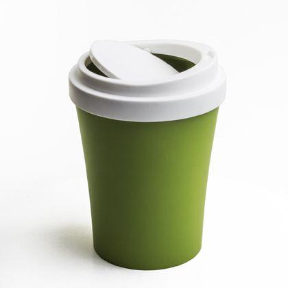 ノーブランド Coffee Bin ダストボックス グリーン