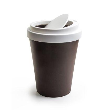 ノーブランド Coffee Bin ダストボックス ミニ ブラウン