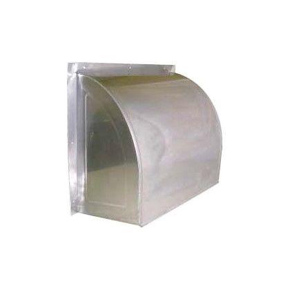 ステンレス換気扇カバー(ウェザーカバー) 鏡面仕上 350 (47907)