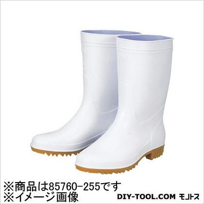 抗菌衛生白長靴85760白255 (×1)   85760255