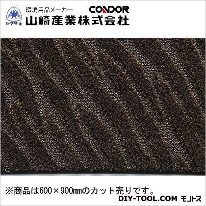 ロンステップマット タフ500 ブラウン 600×900mm F-224-6