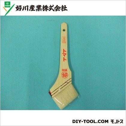 好川産業 白毛刷毛 トマト  25号60mm 011586