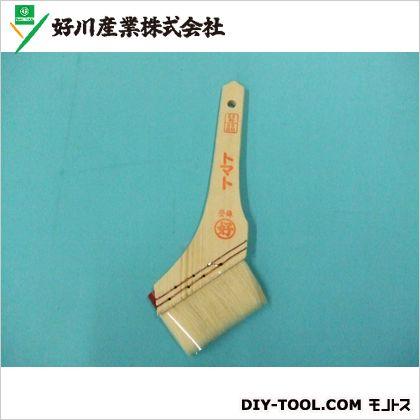 好川産業 白毛刷毛 トマト  35号85mm 011588