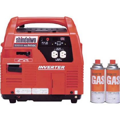 ポータブルインバーター発電機 (カセットガスボンベ式)   IEG900BG