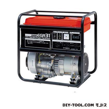 ガソリン発電機  幅×奥行×高さ:430×570×573mm EGR31-SA
