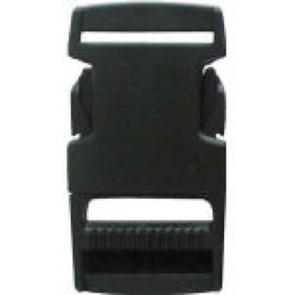 Aバックル(平ベルト専用金具) ブラック A30×L68 JA06(JA-06 1 個
