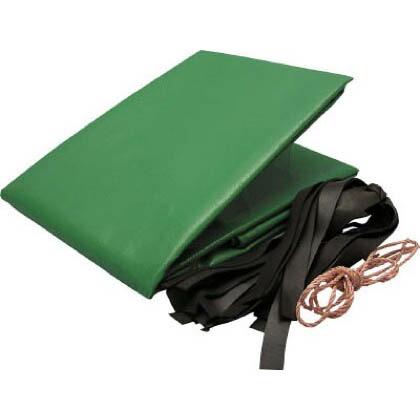 トラックシート帆布 グリーン 2.6m×4.8m H-5