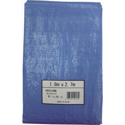薄手ブルーシート #1100 1.8m×2.7m (BSC02MK) 1枚