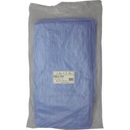薄手ブルーシート #1100 3.6m×5.4m (BSMK) 1枚