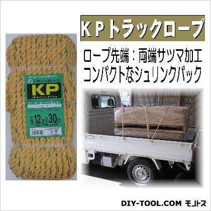 KPトラックロープ  12mm×30m TRK-6