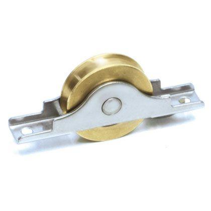 真鍮戸車  40mm BYS-0401