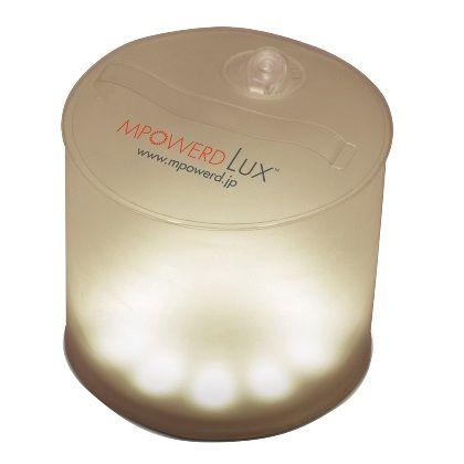 MPOWERD エムパワード ソーラーランタン ラックス 本体:マット、LED:暖色
