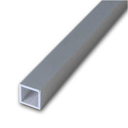 アルミ角パイプ シルバー 2000×10×10×1.0mm TN-392 4 本