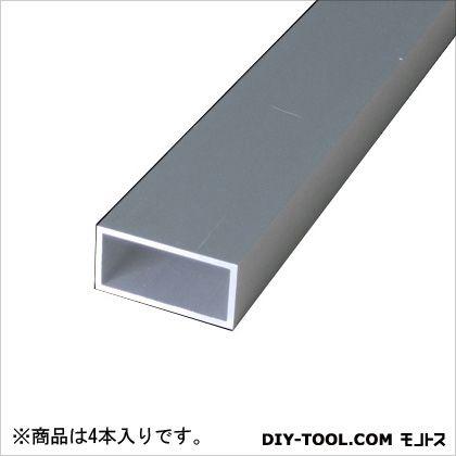 アルミ角パイプ シルバー 2000×10×30×1.5mm TN-421 4 本