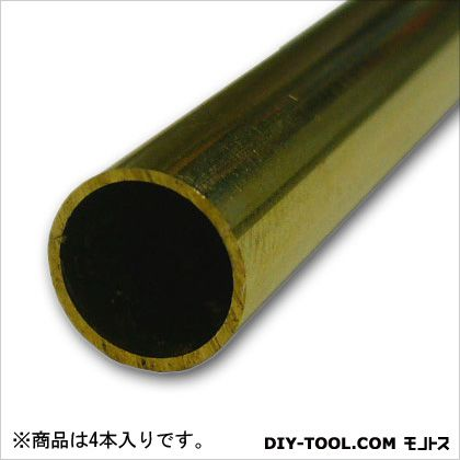 真鍮丸パイプ  1000×8×0.5mm TN-915 4 本