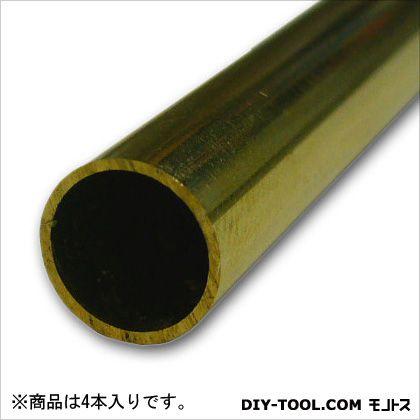 真鍮丸パイプ  1000×15×0.5mm TN-919 4 本