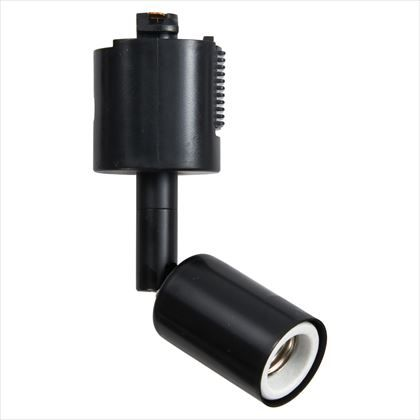 ヤザワ スポットライトショートE17電球なし ブラック 約W33mm×H140mm×D40mm Y07LCX100X01BK