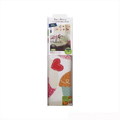 ヨークウォールカバー 貼ってはがせるウォールステッカー カップケーキ(ジャイアント) 45.7×101.6 RMK2037GM 1 枚入