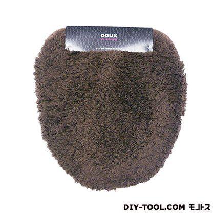 ヨコズナクリエーション トイレフタカバー 洗浄便座用 DOUX ブラウン  235744