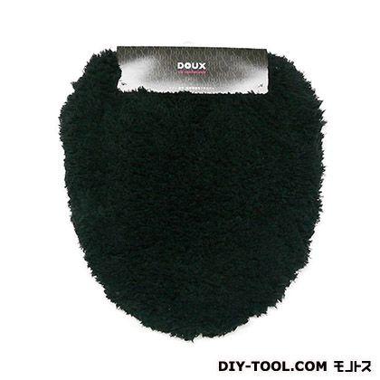 ヨコズナクリエーション トイレフタカバー 洗浄便座用 DOUX ブラック  235745