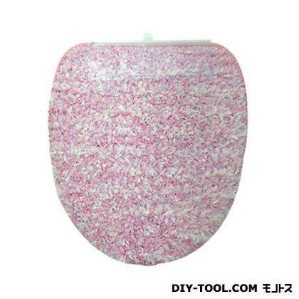 ヨコズナクリエーション トイレフタカバー キャンディフロス 洗浄便座用 ピンク  236771