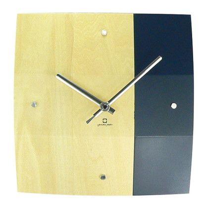 掛け時計 BOWL CLOCK ダークブルー 幅25×奥行5×高さ25(cm) YK06-003