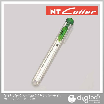 NTカッタースケルトングリーン   iA-120P(G)